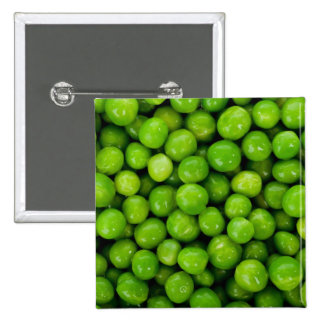 Green Peas Background Pin