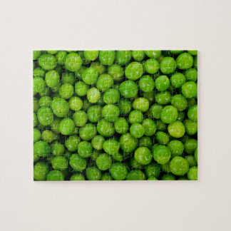 Green Peas Background Puzzles
