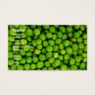 Green Peas Business Card