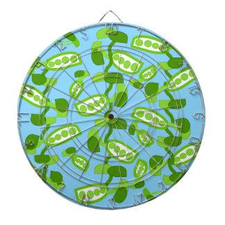 Green Peas Dart Board