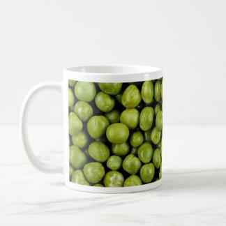 Green peas mug