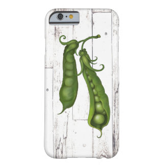 Green Peas Pea White Wood Rustic Farmhouse Chic Barely There iPhone 6 Case