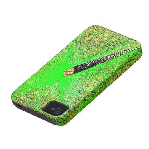 Green Pen Quil Blackberry Cases