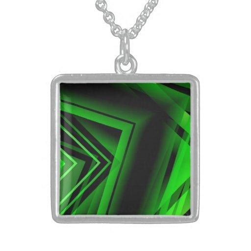 Green pendant for women