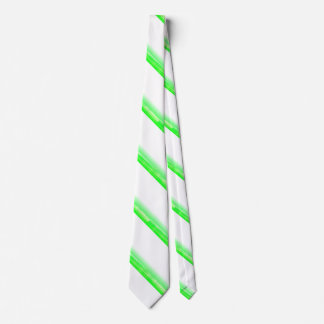 Green Peppermint Candy Cane Tie