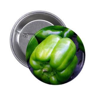 Green Peppers 6 Cm Round Badge