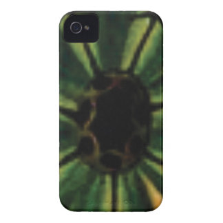 green petal flowers iPhone 4 case