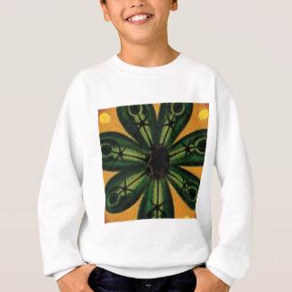 green petal stemm sweatshirt