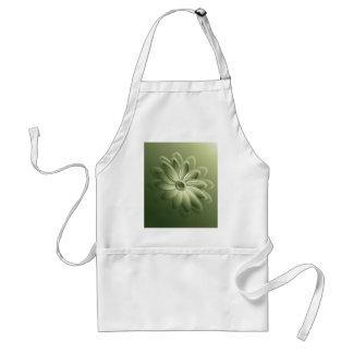 green petals standard apron