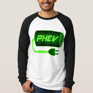 Green PHEV, plug me in T-shirts
