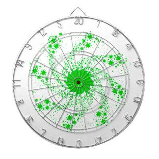 Green Pin Wheel Dartboard