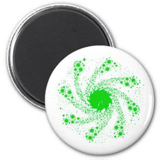 Green Pin Wheel Magnet