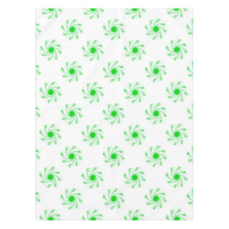 Green Pin Wheel Tablecloth