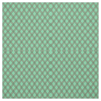 Green Plaid Fabric