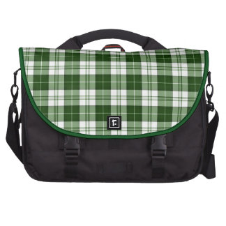 Green Plaid Laptop Bags