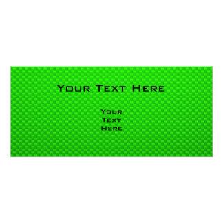Green Plane Full Color Rack Card