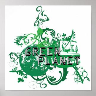 Green Planet Print