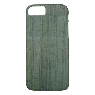 Green plank wall iPhone 7 case