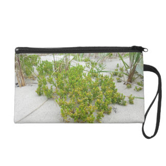 Green plants at the beach wristlet