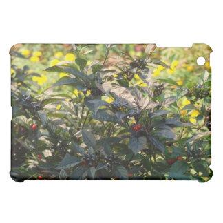 green plants case for the iPad mini