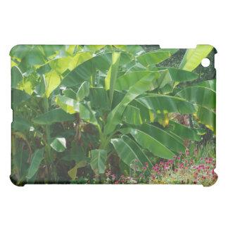 green plants iPad mini cases