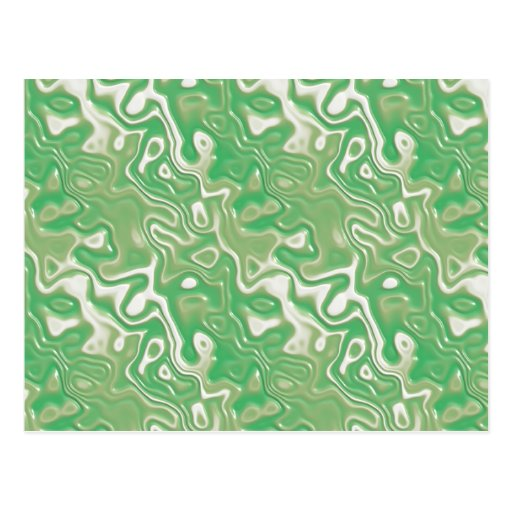 Green Plastic Postcard