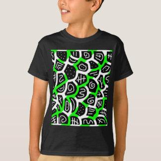 Green playful pattern T-Shirt