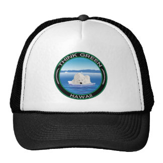 Green Polar Hawaii Hat