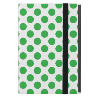 Green Polka Dots Case For iPad Mini