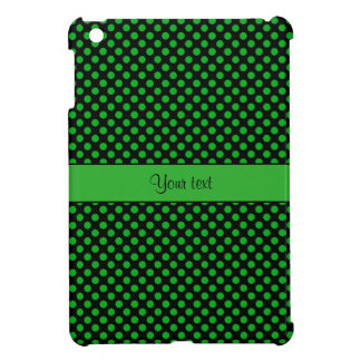 Green Polka Dots Case For The iPad Mini