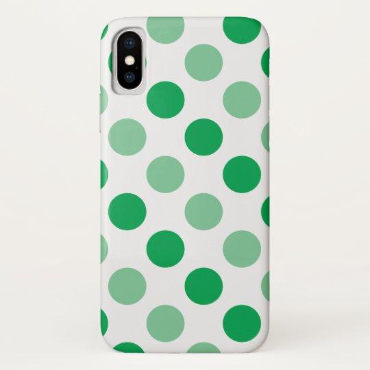 Green polka dots pattern galaxy nexus covers