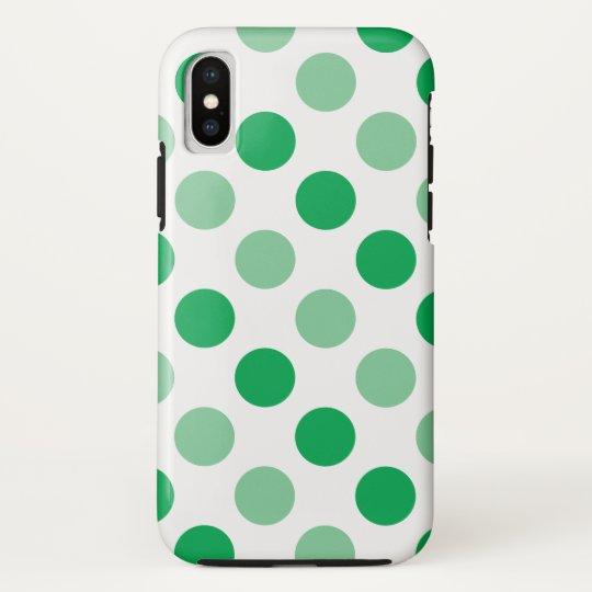 Green polka dots pattern HTC vivid cases