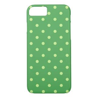 Green Polka Dots Phone Case