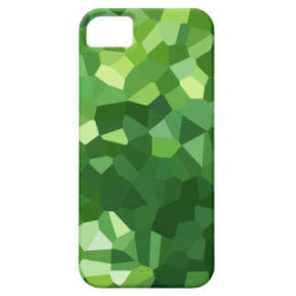 Green Polygon Shape Stained Glass Mosaic Abstract iPhone 5 Case