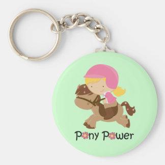 Green Pony Power Keychain