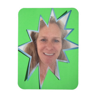Green Pop Out Photo Frame Magnet