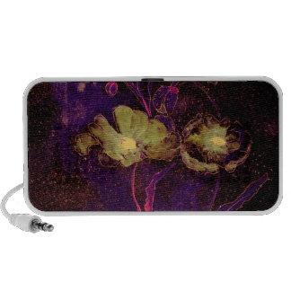 Green Poppies-iphone speaker
