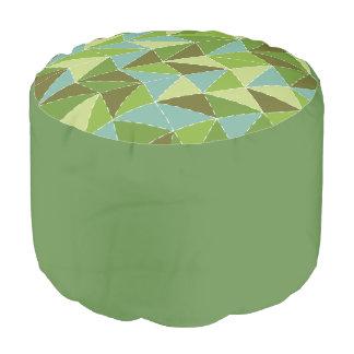 Green pouf