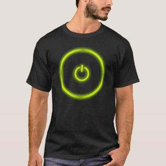 green power button T-Shirt