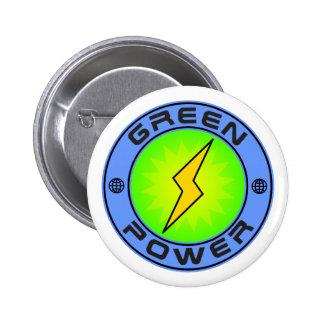 Green Power II Button