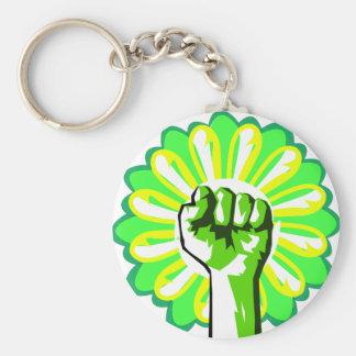 Green Power Keychains