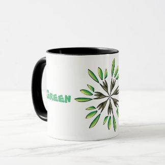 Green power mug