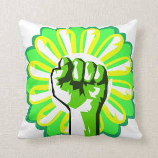 Green Power Pillows