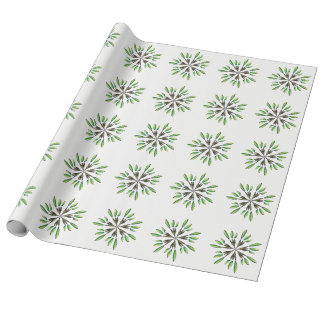 Green power wrapping paper