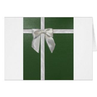 green present card