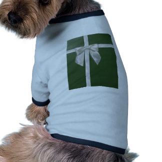 green present doggie tee