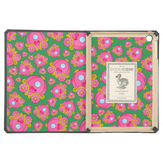 Green princess carriage pattern iPad air covers