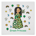 Green Princess Poster