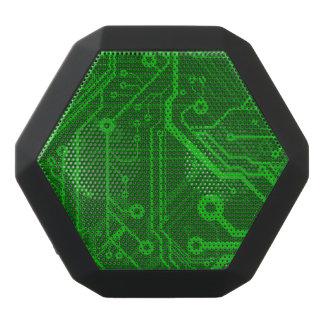 Green Printed Circuit Board Pattern Black Boombot Rex Bluetooth Speaker