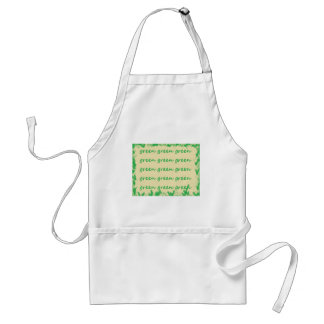 Green products apron
